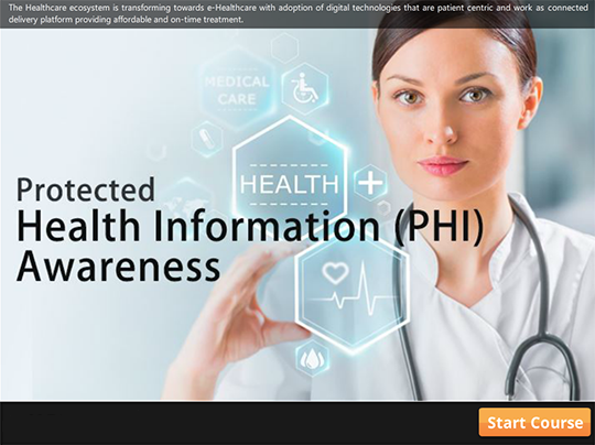 PHI - Protected Health Information Awareness